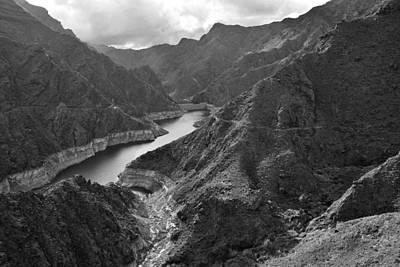 Photograph - Presa De Parralillo Dam Gran Canaria by Marek Stepan
