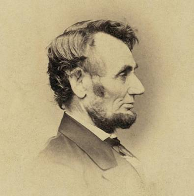 Photograph - President Abraham Lincoln 1809-1865 by Everett