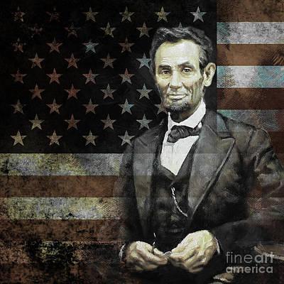 President Lincoln  Art Print by Gull G