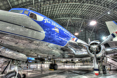 Presidential Aircraft - Douglas Vc-118, The Independence  Art Print