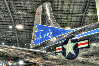 Presidential Aircraft - Douglas Vc-118, The Independence - Tail Section  Art Print