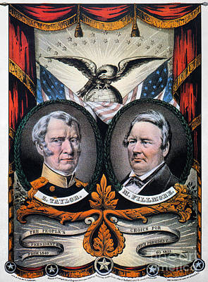 Advertising Campaign Photograph - Presidential Campaign, 1848 by Granger