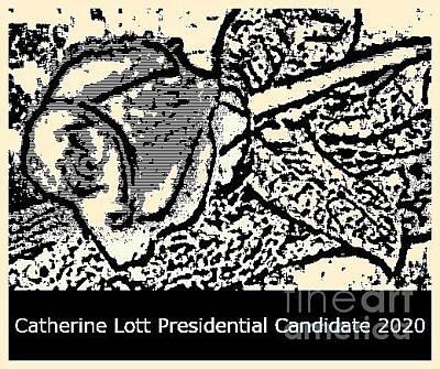 Animal Watercolors Juan Bosco - Presidential Candidate Catherine Lott 2020 by Catherine Lott