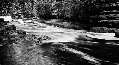 American West - Presque Isle River by Jayme Spoolstra