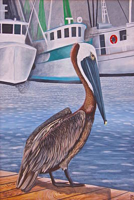 Painting - Pride Of Shem Creek by Virginia Bond