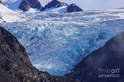 Photograph - Prince William Sound Glacier by Jennifer White