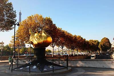 Photograph - Princess Diana Memorial - Paris by Jacqueline M Lewis
