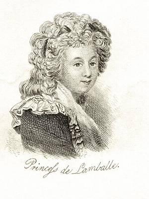 Princesse De Lamballe Marie Th R Se Art Print