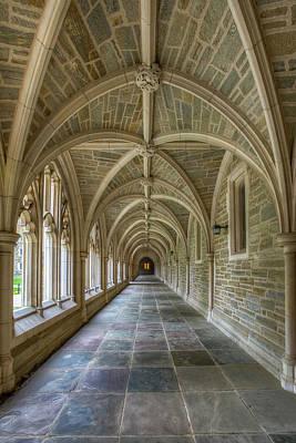 Photograph - Princeton University Hallway IIi by Susan Candelario