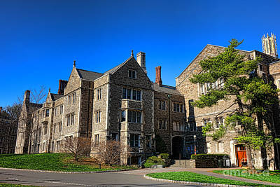 Photograph - Princeton University Little And Dillon Gym Halls by Olivier Le Queinec