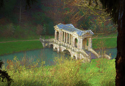 Photograph - Prior Park, Bath by Ron Harpham