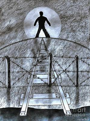 Painting - Prison by Yury Bashkin
