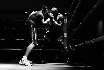 Prize Fighting Photograph - Prize Fighters by David Lee Thompson