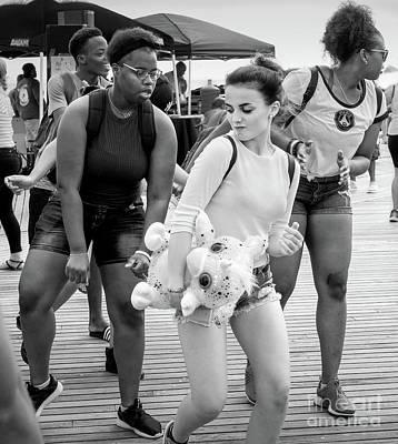Photograph - Prize Winner, Coney Island, New York #235105-bw by John Bald