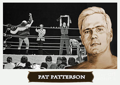 Photograph - Professional Wrestling Legend Pat Patterson by Jim Fitzpatrick