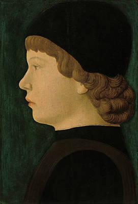 Painting - Profile Portrait Of A Boy by North Italian 15th Century