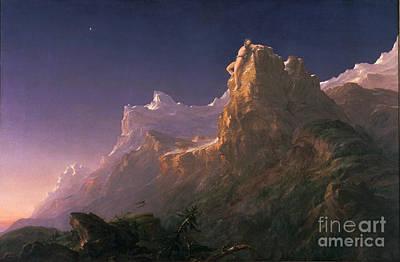 Prometheus Painting - Prometheus Bound by Celestial Images