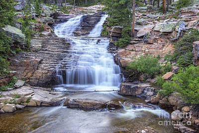 Photograph - Provo River Falls by Spencer Baugh