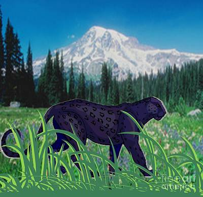 Painting - Prowling by Belinda Threeths