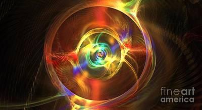 Proxima Centauri Digital Art - Proxima Centauri by Kim Sy Ok