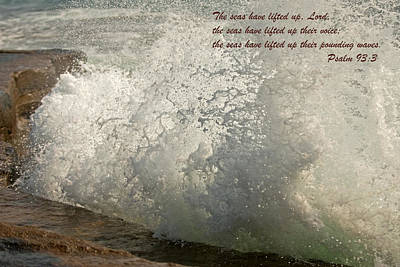 Photograph - Psalm 93-3 by Paul Mangold
