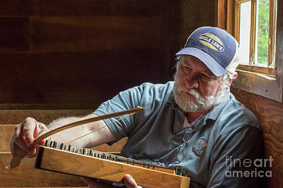 Photograph - Psaltery by Jim West