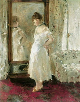 Painting - Psyche by Berthe Morisot