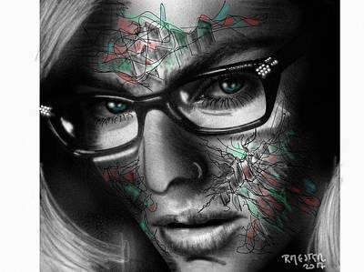 Psychiatric Mixed Media - Psychosis by Ricardo Mester