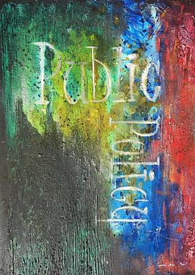 Painting - Public Policy by Laura Pierre-Louis
