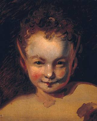Puck Painting - Puck Or Robin Goodfellow by Joshua Reynolds