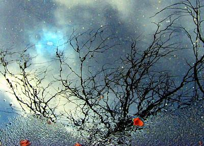 Puddle Art Print by Dale   Ford