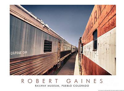 Photograph - Pueblo Colorado Railway Museum by Robert Gaines