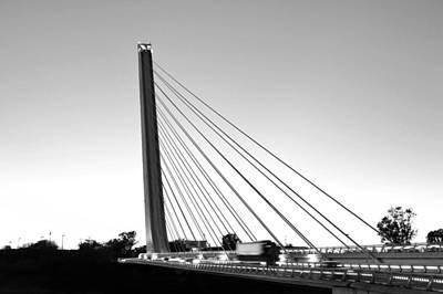 Photograph - Puente Del Alamillo Sevilla by Marek Stepan