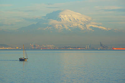 Photograph - Puget Sound by Angi Parks