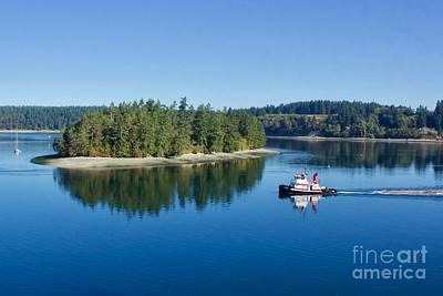 Photograph - Puget Sound by Sean Griffin