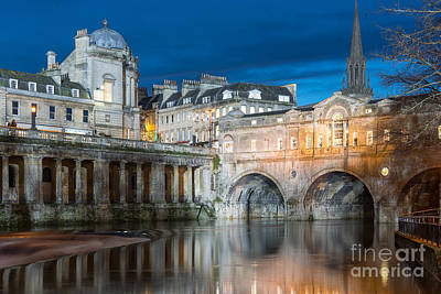 Pulteney Bridge, Bath Art Print