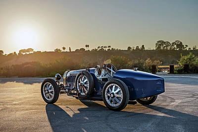 Pur Sang Bugatti Type 35 Art Print by Drew Phillips