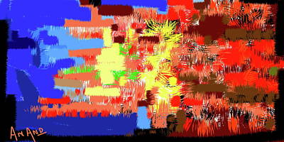 Digital Art - Pure Abstraction-4 by Anand Swaroop Manchiraju