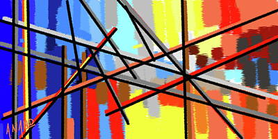 Digital Art - Pure Abstraction-5 by Anand Swaroop Manchiraju