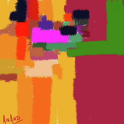 Digital Art - Pure Abstraction-6 by Anand Swaroop Manchiraju