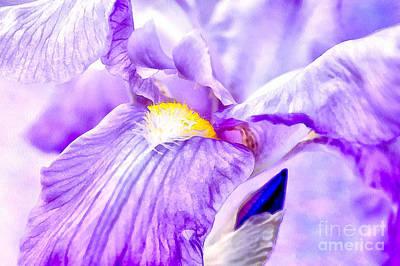 Photograph - Purple Essence by Krissy Katsimbras