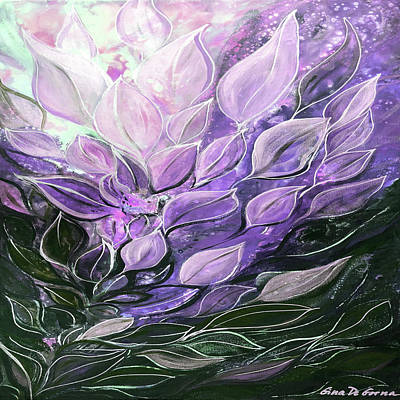 Painting - Purple by Gina De Gorna