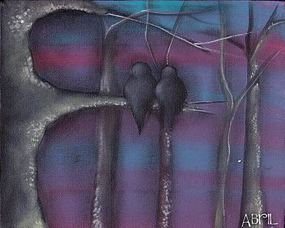 Painting - Purple Night by  Abril Andrade Griffith
