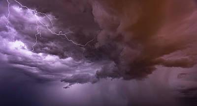 Photograph - Purple Rain  by Saija Lehtonen