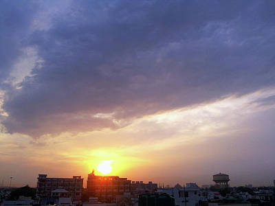 Photograph - Purple Sunset by Atullya N Srivastava