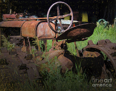 Put Out To Pasture Art Print