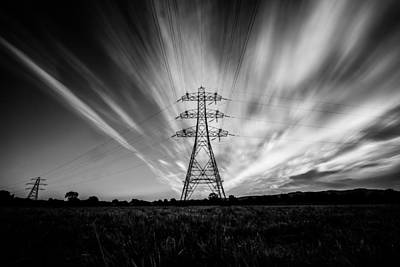 Photograph - Pylon by Will Gudgeon