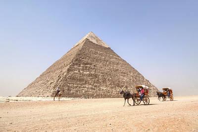 Pyramid Of Khafre - Egypt Art Print