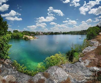 Mannequin Dresses Rights Managed Images - Quarry Lake Swimming Hole - Austin, Texas Royalty-Free Image by Bruce Lemons