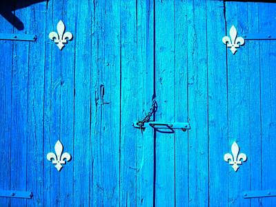 Blau Photograph - Quebec ... by Juergen Weiss